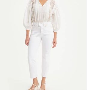 White Wedgie Fit Straight Women's Levi's